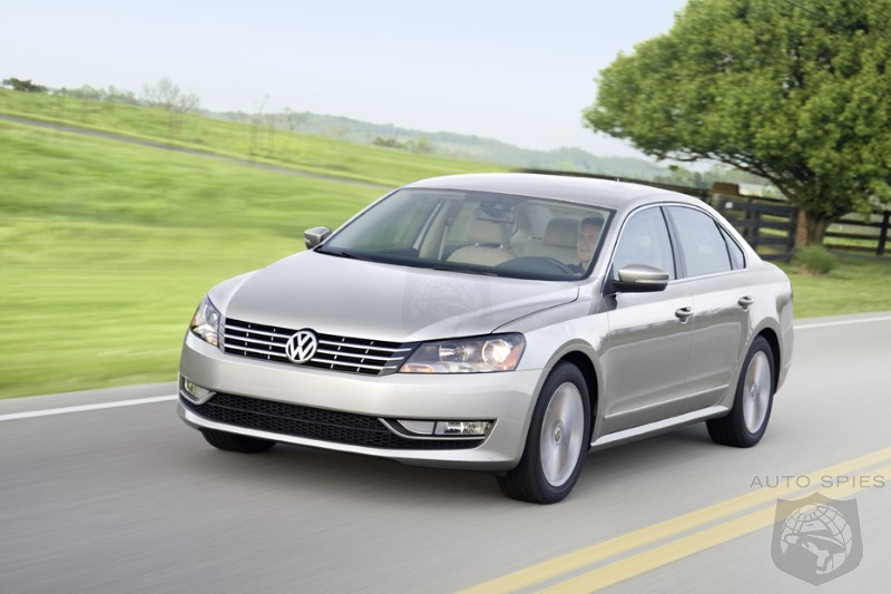 2012 Passat To Start At Under $20,000 - TDI To Have 800 Mile Range