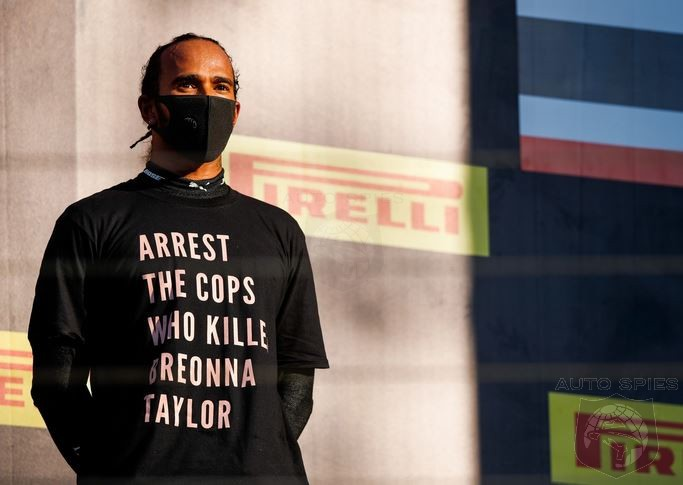 FIA Investigates Lewis Hamilton For Wearing A Political T-Shirt At Formula One Race