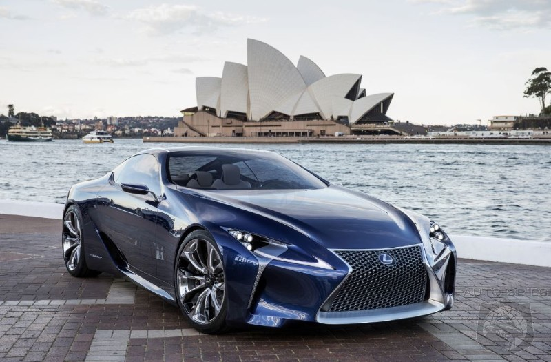 What Are The Odds Lexus Claims Upcoming SC To Challenge Porsche 911 Turbo