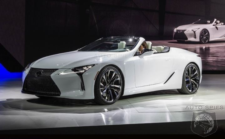#NAIAS: Lexus Proves A Pretty Face Can Still Draw Looks With the All New LC Convertible