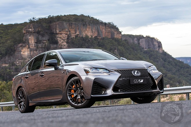 Next Gen Lexus GS-F To Be Powered By A 4 Liter Twin Turbo V8