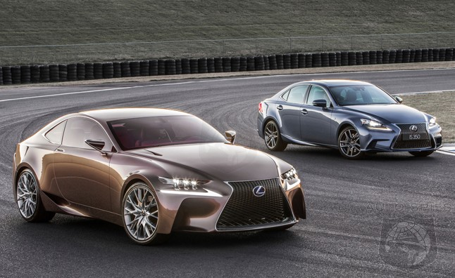 Lexus Says LF CC Influenced 2014 IS But Will It Also Spawn A 4 Series  Killer As Well?