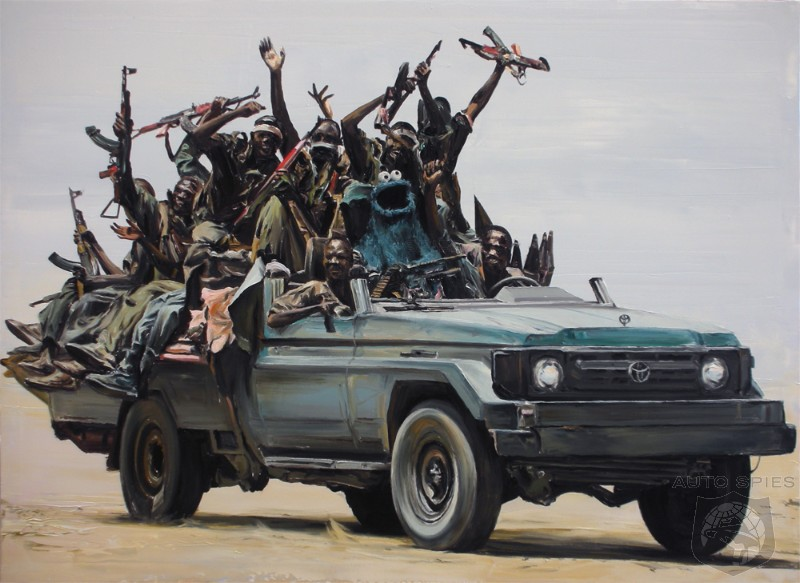 Toyota Losing Favor With Rebel Groups And Insurgents Autospies Auto News