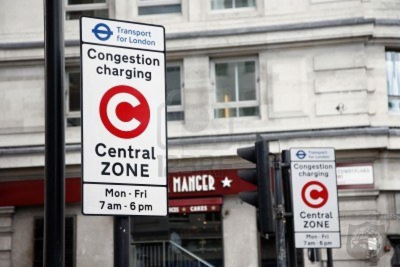 No Congestion Charge For Electric Cars In London