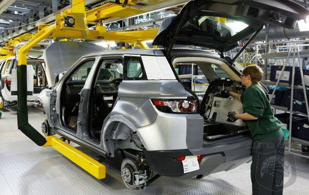 Land Rover Opens Doors To Competition Sharing New Aluminum Assembly Process