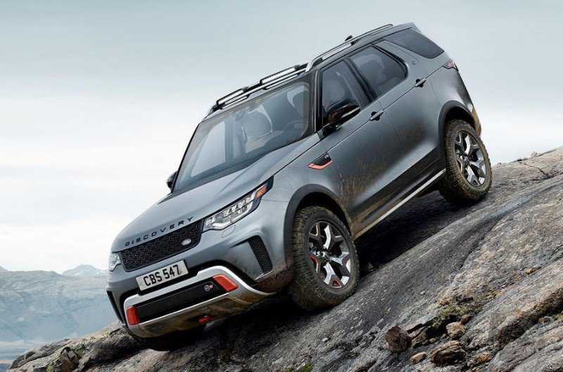 Hardcore Land Rover Discover SVX And Range Rover SV Coupe Cancelled