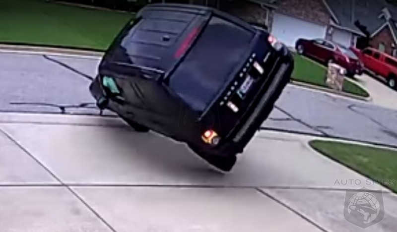 You Know Your Day Is Going To Suck When You Flip The Land Rover In The Driveway
