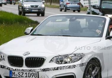 STUD OR DUD? BMW M235i Convertible Caught Almost Completely Undisguised
