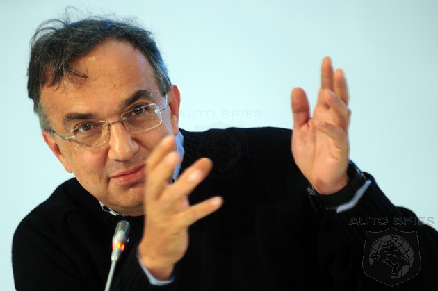 Marchionne Claims Canadian Auto Workers Need To Get A Grip On Reality
