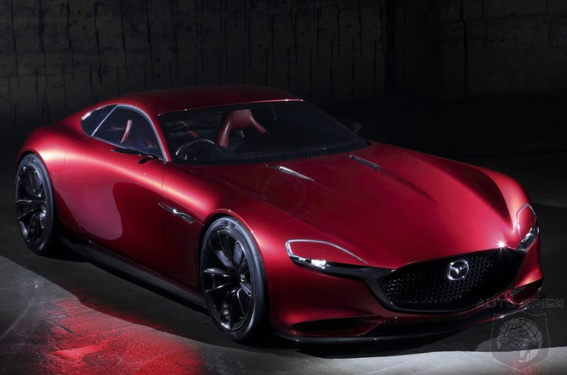 Mazda Gives Hope To Purists - Production RX-Vision Is Still On The Table