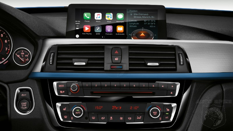 BMW To Charge Owners $80 Annually To Access Apple's Free Carplay