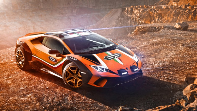 Lamborghini May Be Considering The Offroad Huracan Sterrato For Production