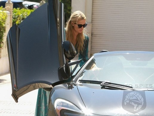 Paris Hilton Picks Up A McLaren 650S Spider For Around Town Driving