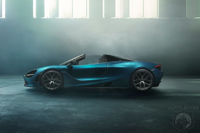 McLaren 720S Spider Set To Challenge Ferrari 488 Spider At The Top Of The Food Chain