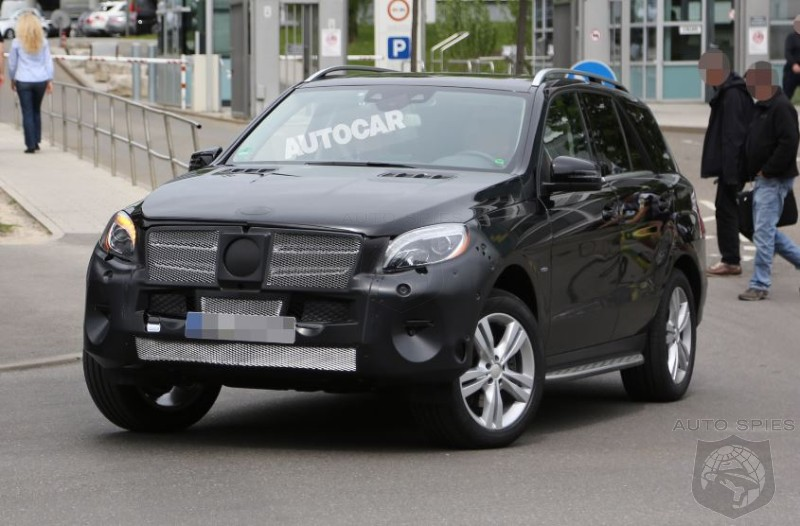 STUD OR DUD? Facelifted 2015 Mercedes-Benz M-Class Caught In The Open