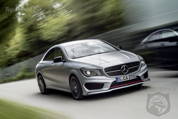 OUCH! Consumer Reports Says The Mercedes-Benz CLA250 Is A Really Nice Civic