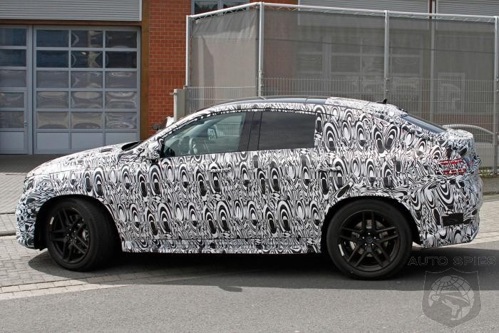 AMG Version Of Mercedes ML Concept Coupe Already Caught Testing In The Wild