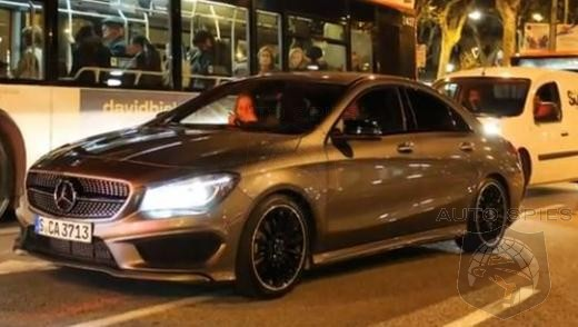 STUD OR DUD VIDEO EDITION: Mercedes-Benz CLA In AMG Trim Spotted In Barcelona Spain