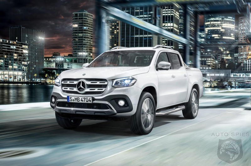 Mercedes Reveals The X Class Pickup Could It Establish a New Market If It Came To The US