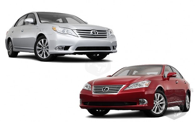 FACE OFF: 2011 Lexus ES350 VS 2011 Toyota Avalon Which Is The Better Buy?