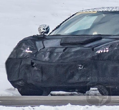 Sinister  Looking 2019 Mid-Engined Corvette Caught In Best Spy Shot Yet