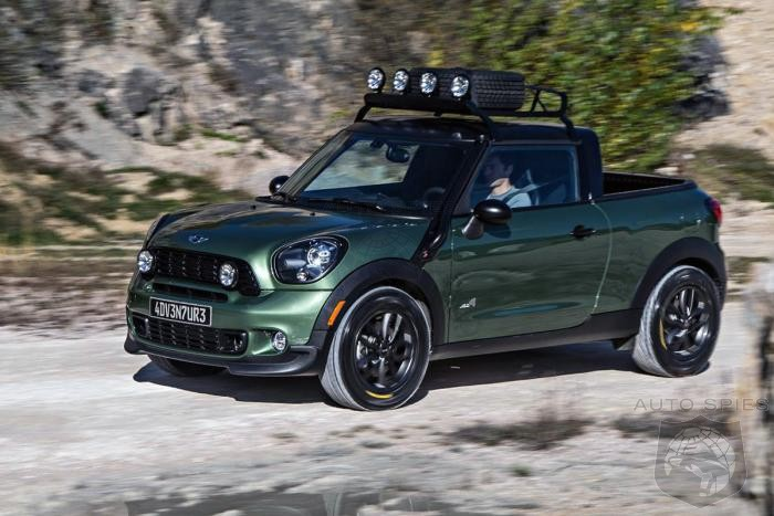 It Might Be Nuts, But Should MINI Consider Building A Pickup?