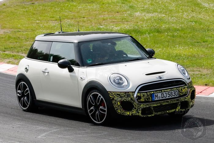MINI Caught Testing John Cooper Works At The Nurburgring