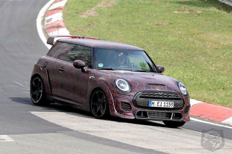 300 HP Mini John Cooper Works GP Stretches It's Legs With Concept Inspired Body Work