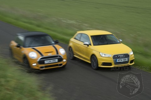 Audi S1 Vs Mini Cooper S - If Audi Brought The S1 To The US, Would It Be Game Over For MINI?