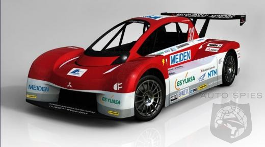 Mitsubishi To Debut i-MiEV Evolution At Pikes Peak Challenge