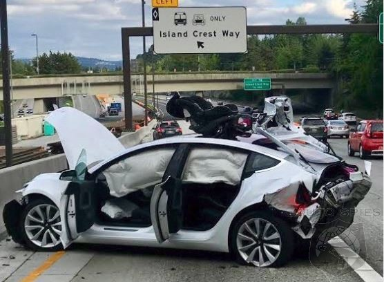 NHTSA Claims Telsa Model 3 Has Lowest Probability Of Injury Of Any Vehicle... EVER