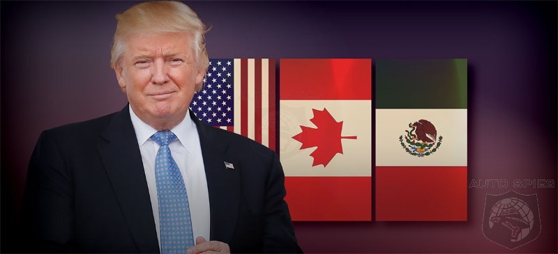 Trump Makes Good On Campaign Promise - NAFTA Negotiations Begin