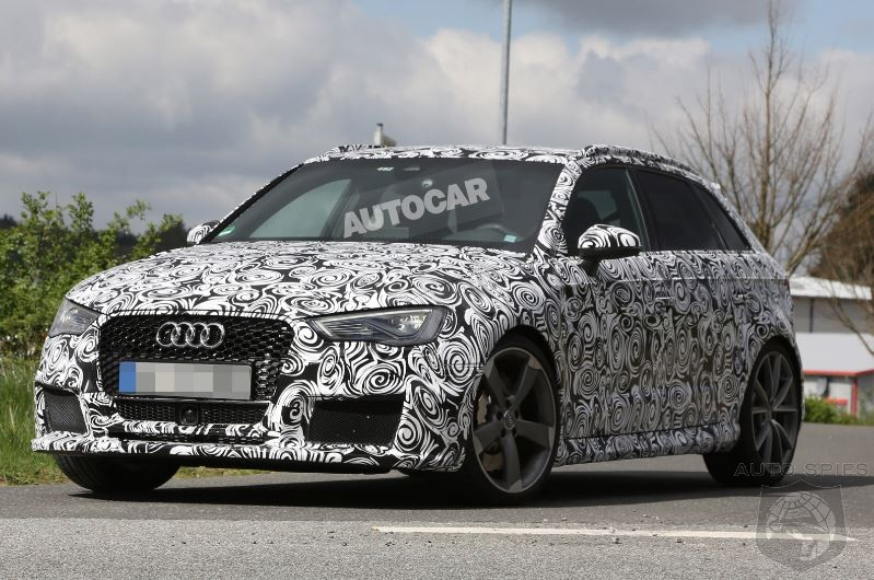 Audi To Silence Critics Once And For All With New RS3 Hatchback