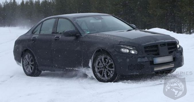 The Strip Tease Continues With The All New C-Class Caught Testing In The Snow