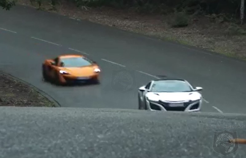 Working Class Vs Aristocrat How Well Does The Acura NSX Stack Up Against the McLaren 570S
