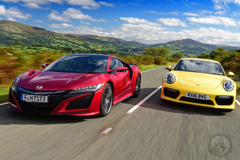 Honda NSX Vs Porsche 911 Turbo - Who Is Going To Get It Handed Back on 2016 ford gt vs acura nsx, honda vs acura integra, honda acura nsx concept, 1990 acura honda nsx, honda civic with nos,