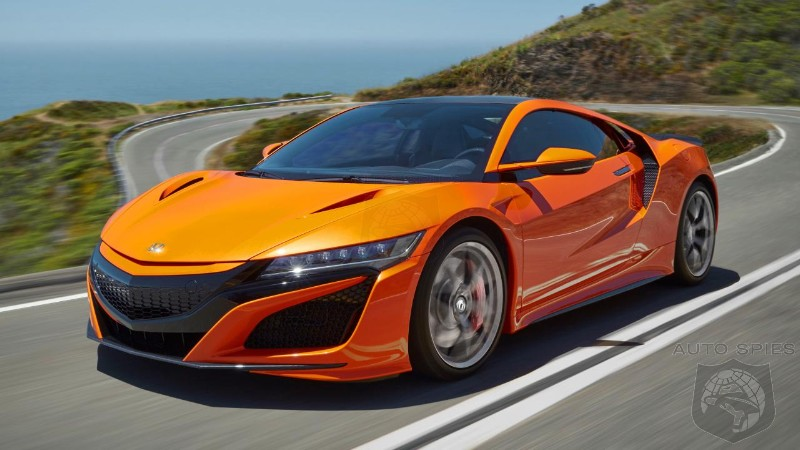 Acura Throws $20,000 In Incentives On The Hood Of The 2018 NSX