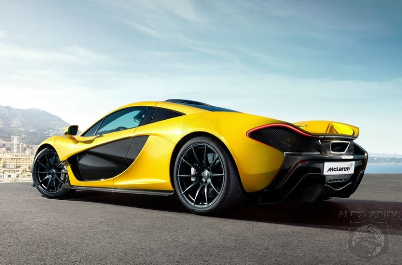 STUD OR DUD? McLaren Makes The P1 Hybrid Official