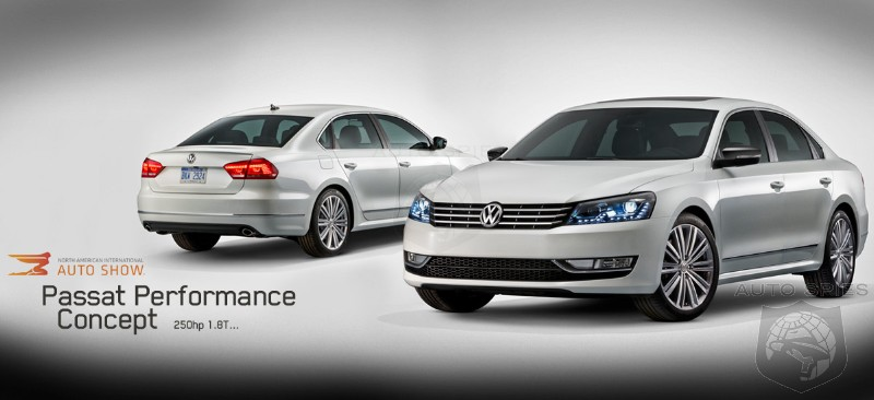 DETROIT AUTO SHOW: Volkswagen To Take The Wraps Off Of Passat Performance Concept