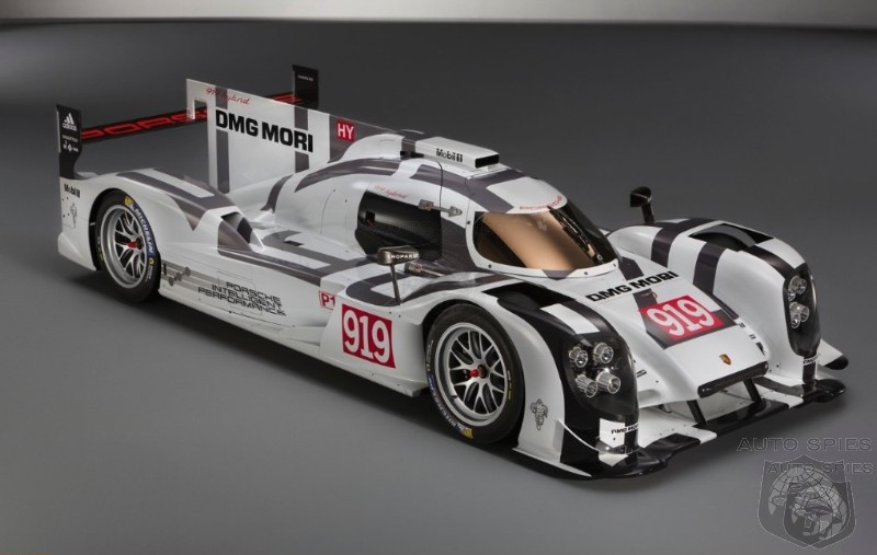 GENEVA MOTOR SHOW: Porsche 919 Hybrid Aims To Redefine Le Mans Racing By Winning On Efficiency