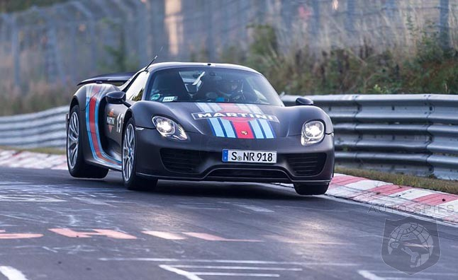 driver claims porsche 918 nurburgring run was done on street tires could be. Black Bedroom Furniture Sets. Home Design Ideas