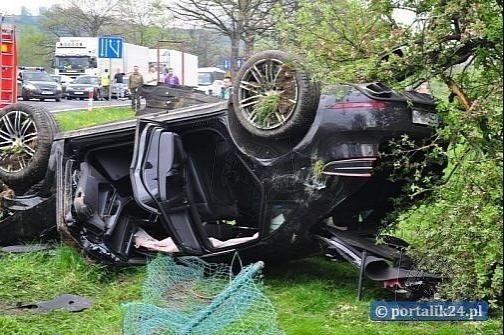 Yes Dear, It Rolls - First Porsche Macan Crashed In Poland