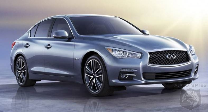 Q50 To Be First Infiniti Model To Use Mercedes-Benz Powerplants