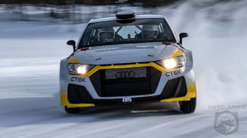 WATCH: Audi Signals Return To The World Rally Championship With A Fire Breathing A1 Quattro Rally Car