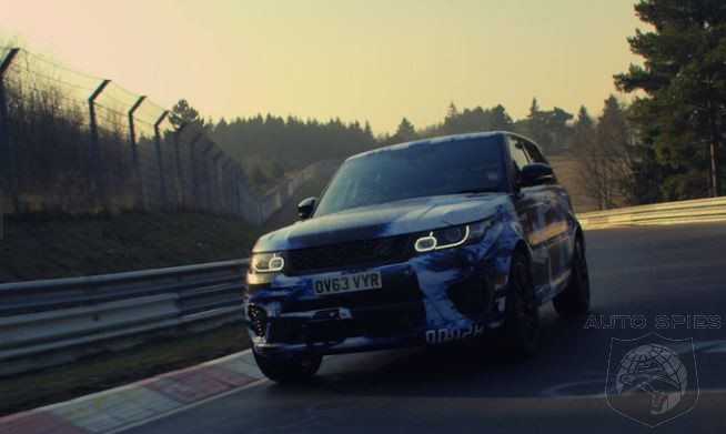 Range Rover Sport SVR Is Now The Fastest SUV Around Nurburgring: How Long Until Porsche Addresses This?