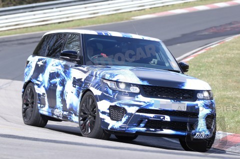 Are Enthusiasts Moving From Fast Cars To Faster SUVs? Land Rover Teases High-Performance Range Rover Sport
