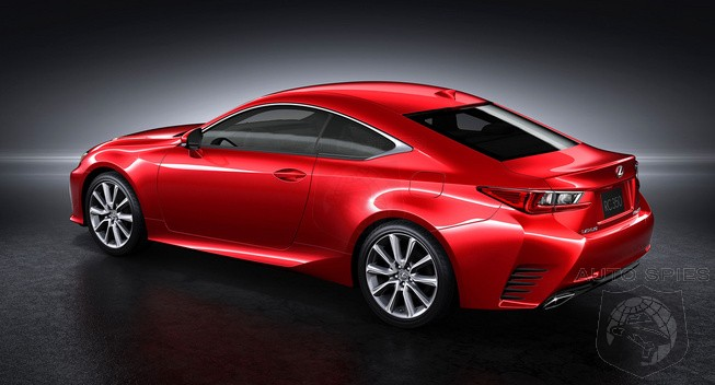 Lexus To Debut 2015 RC 350 F Sport Next Month In Geneva