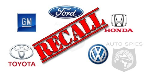 Automakers Smash Annual Record For Recalls In Less Than 6 Months!