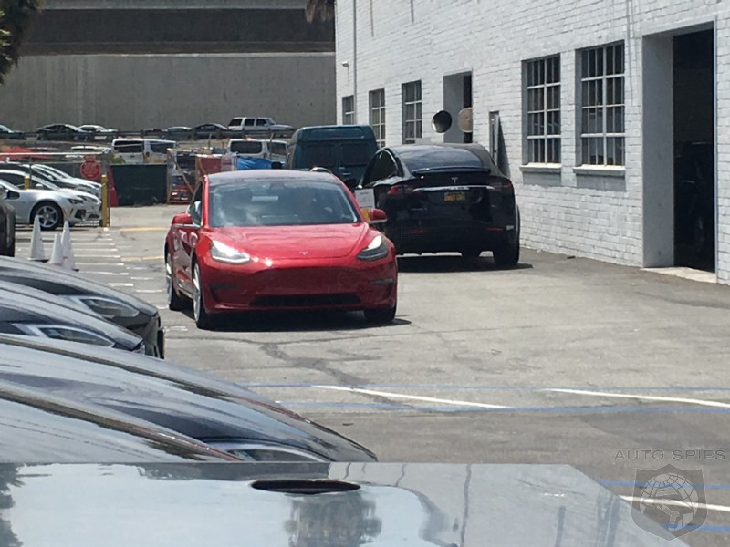 Production Woes Over? Tesla Model 3 Sightings Are On The Increase