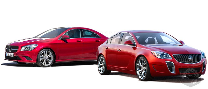 Mercedes-Benz CLA Vs. Buick Regal - Which Is The Lamb Being Led To The Slaughter?